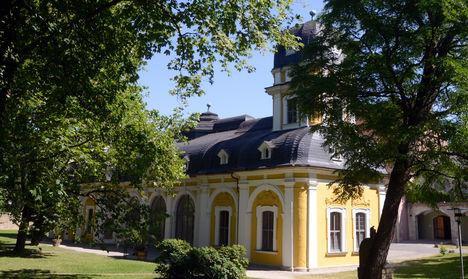 Pavillon außen